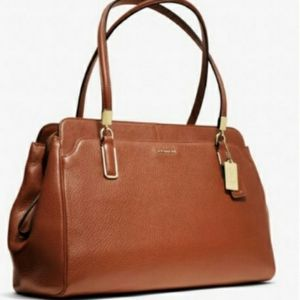 Coach Kimberly Leather Shoulder Satchel